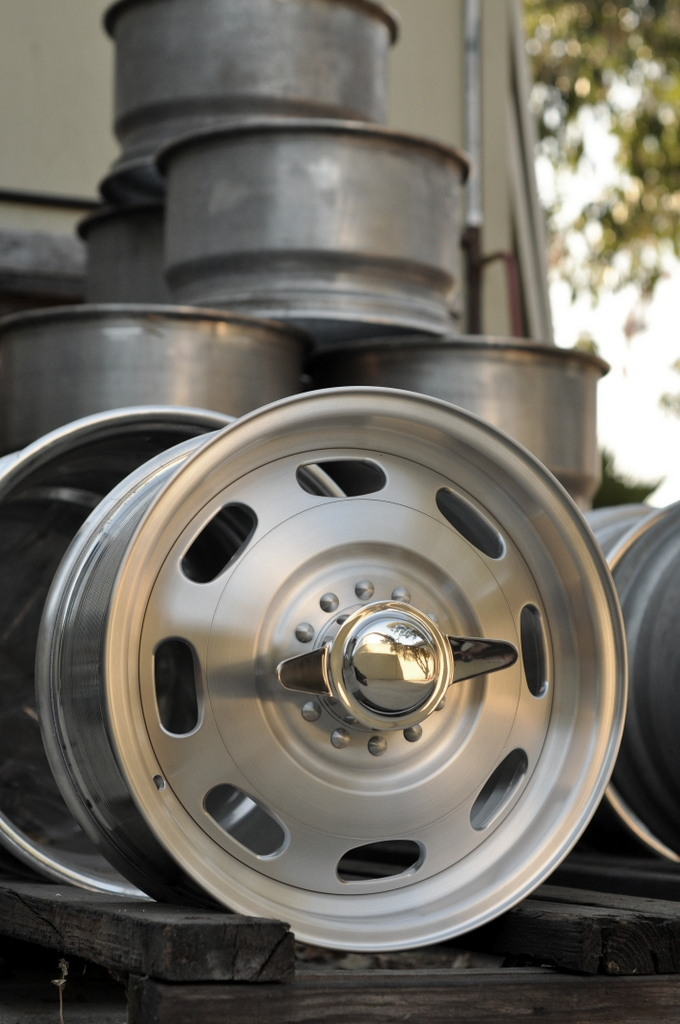 The Leader In Aluminum Reproduction Wheels For A Wide